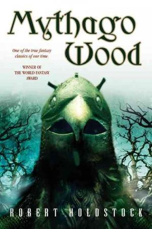 Reading books Mythago Wood (Mythago Wood, #1)