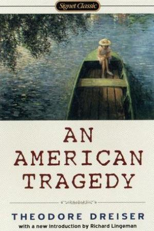 Reading books An American Tragedy