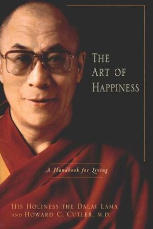 Reading books The Art of Happiness