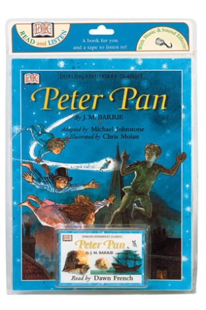 Reading books Peter Pan