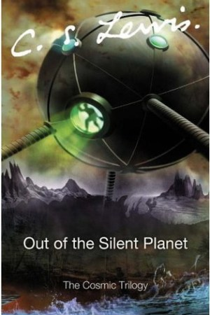 Reading books Out of the Silent Planet (Space Trilogy, #1)