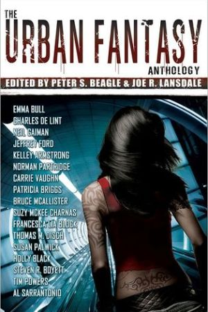 Reading books The Urban Fantasy Anthology