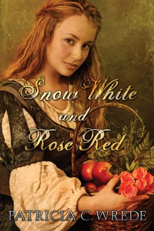 Reading books Snow White and Rose Red
