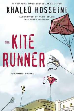 Reading books The Kite Runner: Graphic Novel