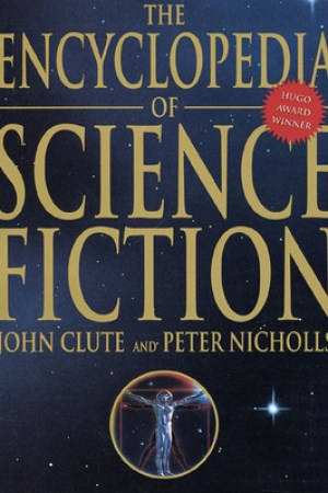 Reading books The Encyclopedia of Science Fiction