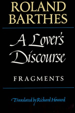 Reading books A Lover's Discourse: Fragments