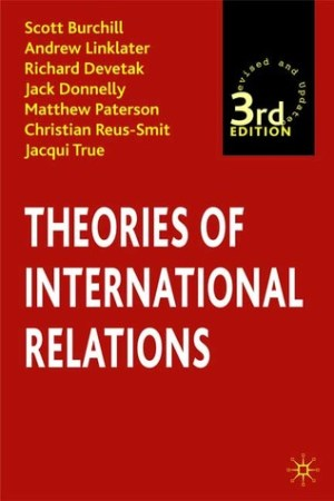 Reading books Theories of International Relations