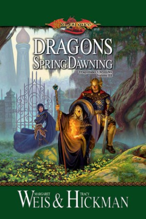 Reading books Dragons of Spring Dawning (Dragonlance: Chronicles, #3)