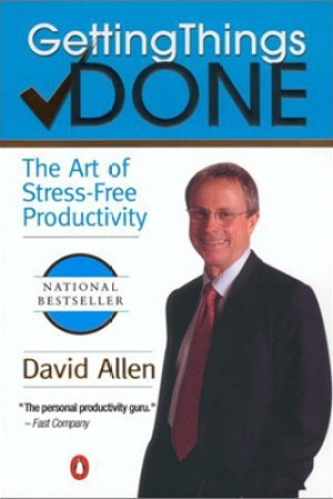 Reading books Getting Things Done: The Art of Stress-Free Productivity