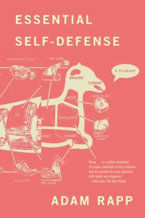 Reading books Essential Self-Defense: A Play