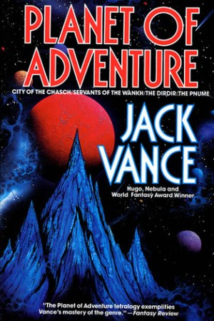Reading books Planet of Adventure (Planet of Adventure, #1-4)