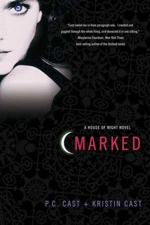 Reading books Marked (House of Night, #1)