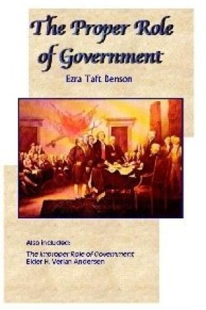 Reading books The Proper Role of Government
