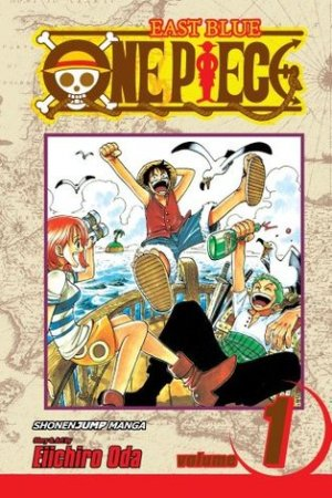 Reading books One Piece, Volume 01: Romance Dawn (One Piece, #1)