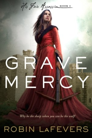 Reading books Grave Mercy (His Fair Assassin, #1)