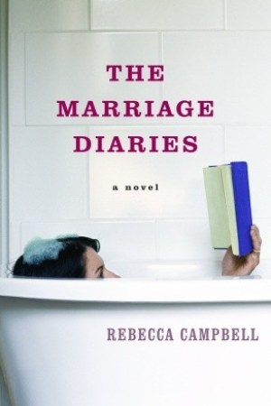 Reading books The Marriage Diaries