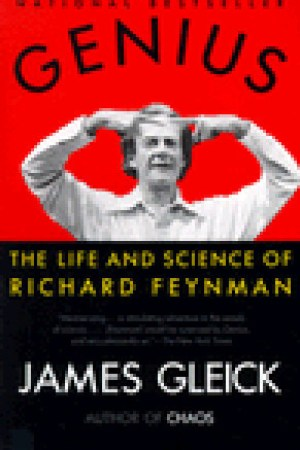 Reading books Genius: The Life and Science of Richard Feynman