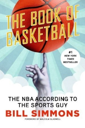 Reading books The Book of Basketball: The NBA According to The Sports Guy