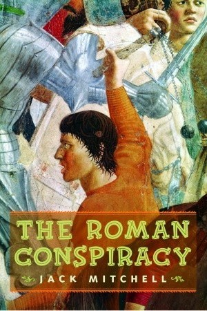 Reading books The Roman Conspiracy