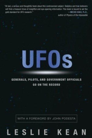 Reading books UFOs: Generals, Pilots and Government Officials Go on the Record