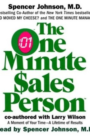 Reading books The One Minute Salesperson