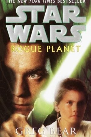 Reading books Rogue Planet (Star Wars)
