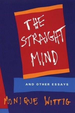 Reading books The Straight Mind: And Other Essays