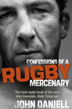 Reading books Confessions of a Rugby Mercenary