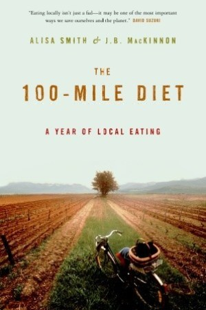 Reading books The 100-Mile Diet: A Year of Local Eating