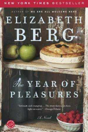 Reading books The Year of Pleasures