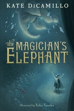 Reading books The Magician's Elephant
