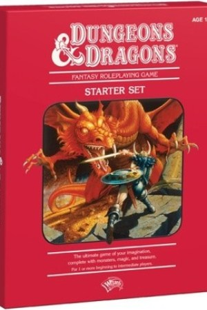 Reading books Dungeons & Dragons Fantasy Roleplaying Game: An Essential D&D Starter Set (4th Edition D&D)