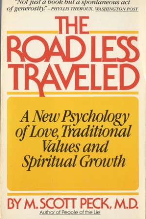 Reading books The Road Less Traveled: A New Psychology of Love, Traditional Values, and Spiritual Growth