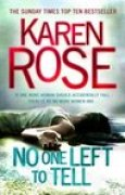 Download No One Left to Tell (Romantic Suspense, #13; Baltimore, #2) books