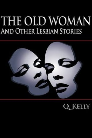 Reading books The Old Woman, and Other Lesbian Stories