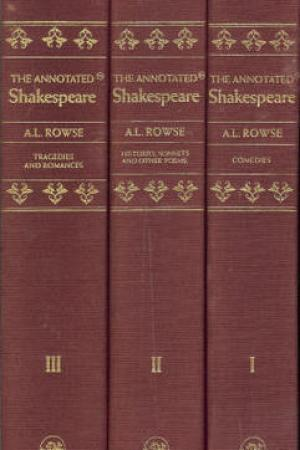 Reading books The Annotated Shakespeare: The Comedies, Histories, Sonnets and Other Poems, Tragedies and Romances Complete (Three Volume Set in Slipcase)