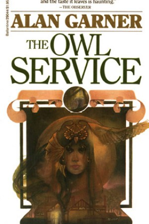 Reading books The Owl Service