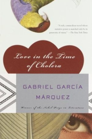 Reading books Love in the Time of Cholera