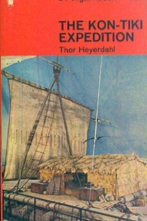 Reading books Kon-Tiki: Across the Pacific in a Raft
