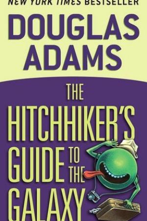 Reading books The Hitchhiker's Guide to the Galaxy (Hitchhiker's Guide to the Galaxy, #1)