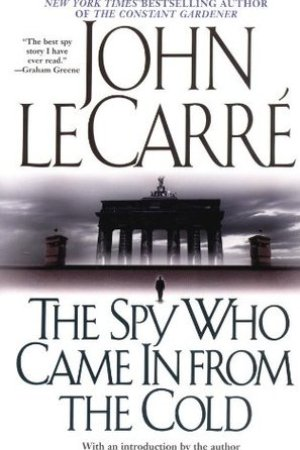 Reading books The Spy Who Came In from the Cold