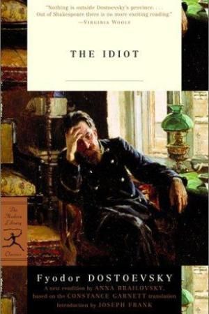 Reading books The Idiot