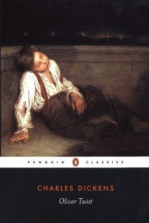 Reading books Oliver Twist