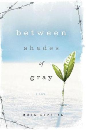 Reading books Between Shades of Gray