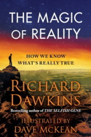 Reading books The Magic of Reality: How We Know What's Really True