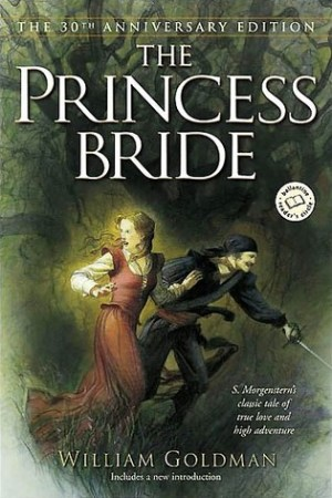 Reading books The Princess Bride