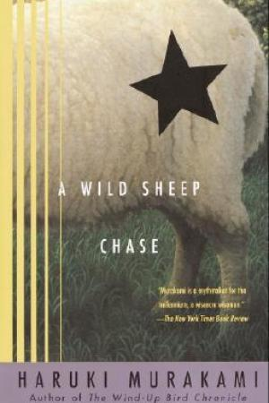 Reading books A Wild Sheep Chase (The Rat, #3)