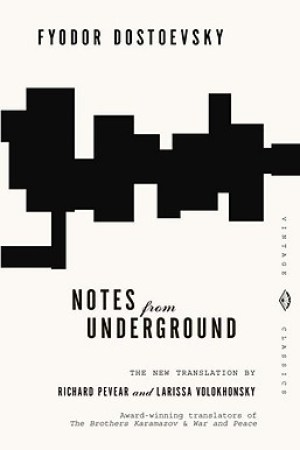 Reading books Notes from Underground