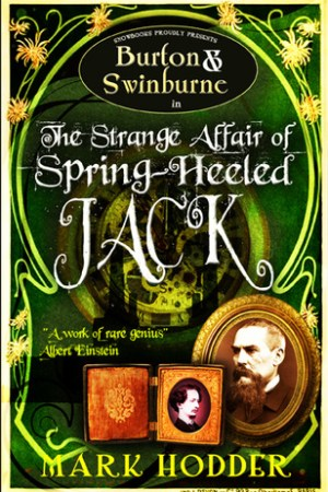Reading books The Strange Affair of Spring Heeled Jack (Burton & Swinburne, #1)