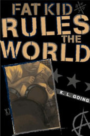 Reading books Fat Kid Rules the World